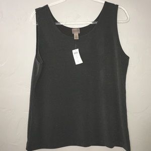Chico's Brown Tank NWT